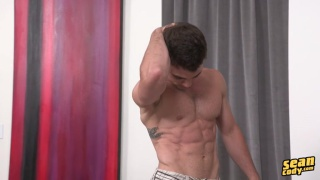 Hard bodies athlete at Sean Cody nude