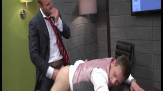 HANS BERLIN & TOM WOLFE fuck at the office