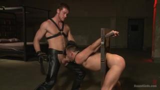 Connor Maguire trains sex slave Mike De Marko