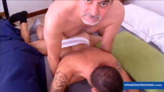 italian bottom fucked by older man