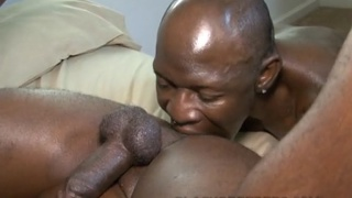 black dude gets ass fucked raw