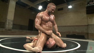 jesse colter and dirk caber at naked kombat