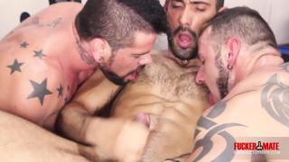 Gym Threeway with Alejandro Dumas, Antonio Miracle and Mario Domenech