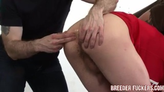 Straight boy punished with butt plug