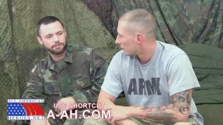 Tyler fucks sergeants ass