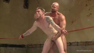 maked wrestlers Jay Rising vs Mitch Vaughn