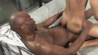 Barebacking black guys Kristian and Unique One