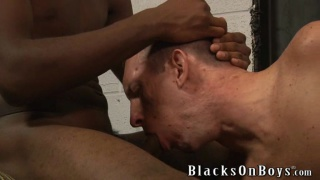 face fucked with big black dick