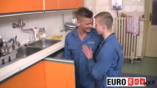 Damian and Justin at euro boy xxx