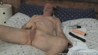 Dick Moore at daddy strokes