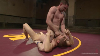 Alex Adams and Jay Rising at naked kombat
