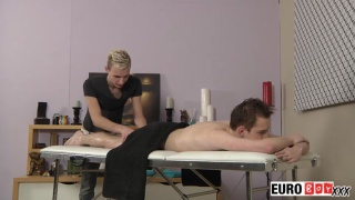 Reece and Milo massage and fuck at euro boy xxx