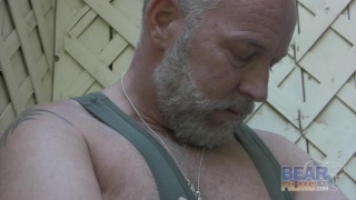 Shooting hot bear Brent Cage