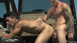 Lance Luciano Fucked by Vance Crawford