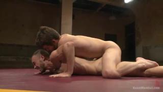 nude wrestlers Kirk Cummings and Duncan Black