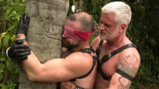 Jake and Kevin fuck outdoors