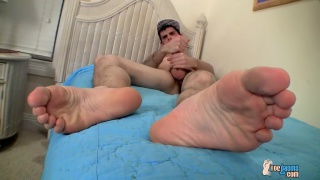 nolan has big feet and a 9-inch cock