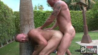 josh takes Dean's daddy cock