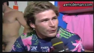 Changing room interview