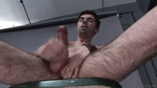riley has a big-nobbed cock
