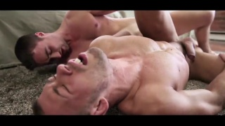 Samuel Stone and Brandon Jones fucking each other