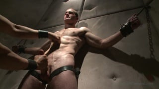 Straight hunk John Smith at 30 minutes of torment