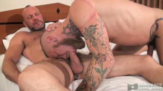 Cy Kohen takes Chad Brock bareback