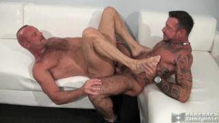 Bareback fuckers Chad Brock and Ray Dalton