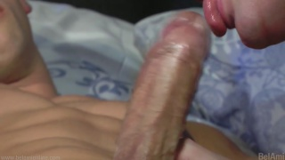 Night time sex with Kris Evans and Marcel Gassion