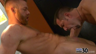 Andrew Justice & Christopher Daniels at men over 30