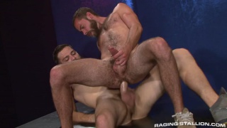 Tommy Defendi and Seth Fisher hungry for big dick