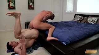 Cole Christiansen's first scene with a guy