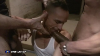 fucked by two macho portuguese thugs