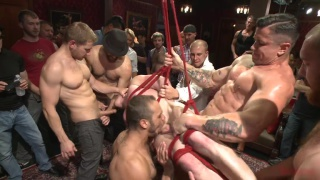 doug acre gang banged at bound in public