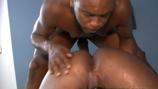 Hot Black Guy Astengo Sucks Ramsees' Cock & Gets Fucked