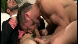Tomas Brand & Dean Monroe in Cock Fight