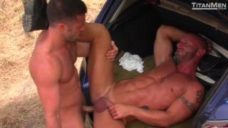 tristan jaxx fucks Aymeric DeVille in truck