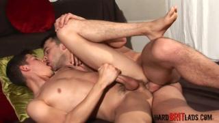 Masculine Matt Brooks fucks lean twink Danny Montero