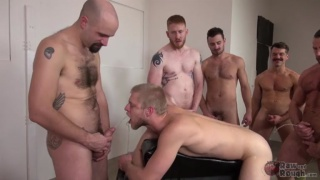 hungry blond bottom services line-up of tops
