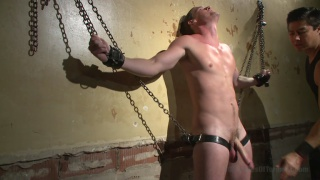hung straight stud kip johnson's dungeon session