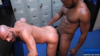 adam russo takes cutler x's huge cock bareback