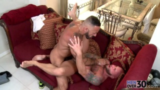 Drake Jaden and Alessio Romero at Men Over 30
