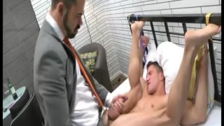 Dolan Wolf in Suit Fucks a Groom