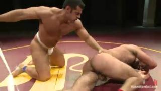 Nude Wrestlers Marcus Ruhl & Ricky Larkin