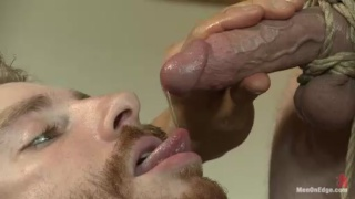 Steve Stiffer Bound and Cock Edged