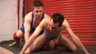 twinks wrestle and fuck barebacks