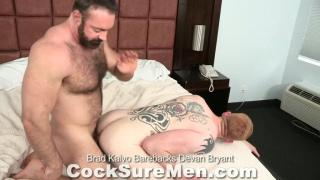 muscle bear raw fucks ginger bottom