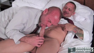 Apprentice fucked by Chad Brock bare