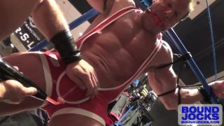 Dirk Caber & Derek Pain at Bound Jocks