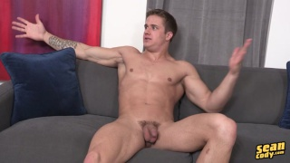 blond hunk noah beating off